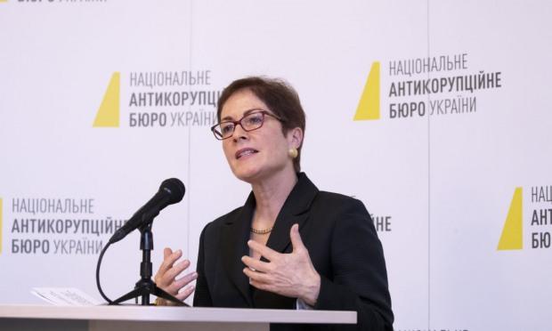 Посол США в Украине выразила поддержку деятельности НАБУ