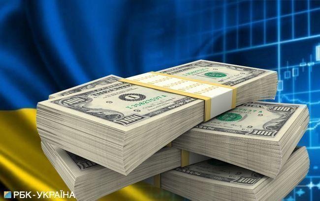 Украина за месяц выплатила почти 2 млрд долларов долгов