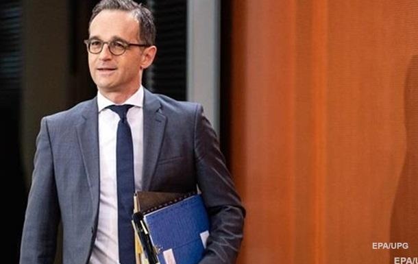 Глава МИД Германии собрался в Украину на День независимости