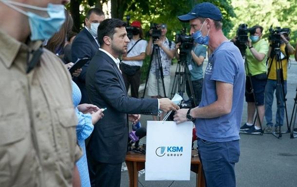 Зеленский: Жилье получили все пострадавшие от взрыва на Позняках в Киеве